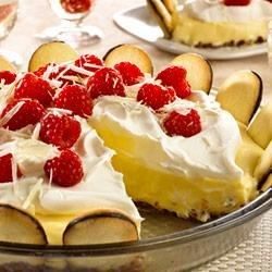 White Chocolate Silk Pie