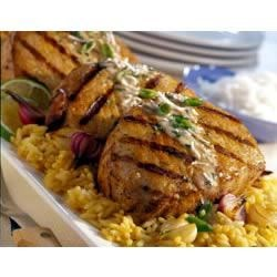 Pina Colada Pork Chops Recipe