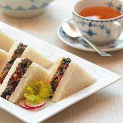 Photo of Lindsay® Olive Tea Sandwiches by Lindsay® Olives