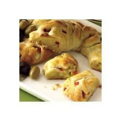 Artichoke-Cheese Braids Recipe