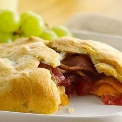 Cheesy Bacon Crescents Recipe