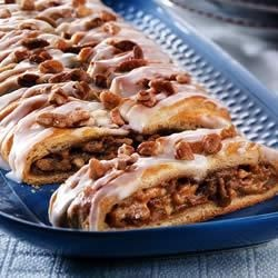 Pumpkin-Pecan Braid Recipe