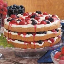 Photo of Berry Tiramisu Cake by Diane  Way