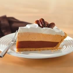 Photo of Triple-Layer Pumpkin Spice Pie by Cool Whip®