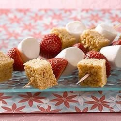 KELLOGG'S* RICE KRISPIES* Pole Vault Triple Recipe