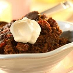 Slow Cooker Gingerbread with Dried Cherries