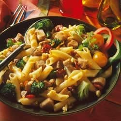 Citrus-Cherry Pork & Pasta Salad Recipe