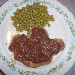 Pork Chops with Pear Sauce