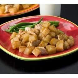 BBQ Chicken and Cheesy Potato Casserole Recipe