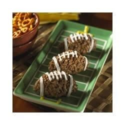 Chocolate Nutty Mini-Football Treats(TM) Recipe