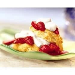 Classic Strawberry Shortcakes Recipe