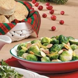Lemony Brussels Sprouts