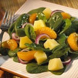 Spinach Mandarin Salad Recipe