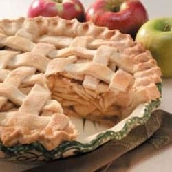 Photo of Lattice-Topped Apple Pie by Anne Halfhill