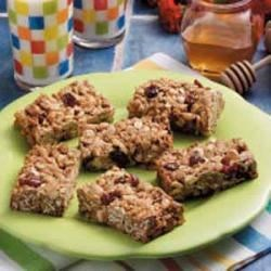 Photo of White Chocolate Cranberry Granola Bars by Janis  Loomis