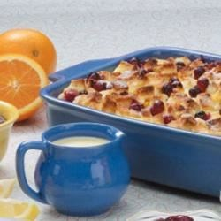 Photo of Cranberry Bread Pudding by Margery  Richmond