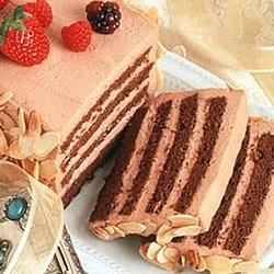 Chocolate Cream Passover Torte