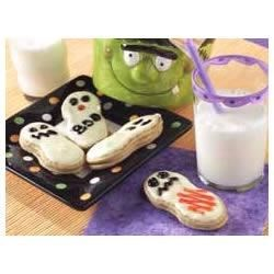 Easy Ghost Cookies Recipe