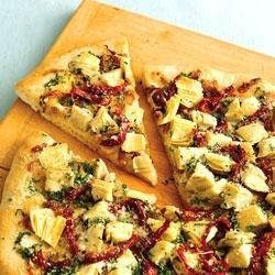 Photo of Luscious Artichoke Heart Pizza by Pillsbury® Pizza Crust