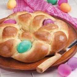 Photo of Easter Egg Bread by Heather  Durante