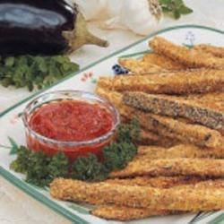 Eggplant Snack Sticks