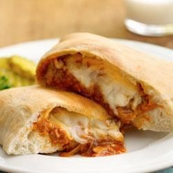Photo of Barbecued Chicken Calzones by Pillsbury® Pizza Crust