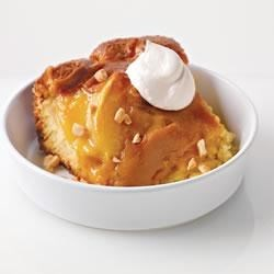 Warm Caramel Apple Pudding Cake Recipe