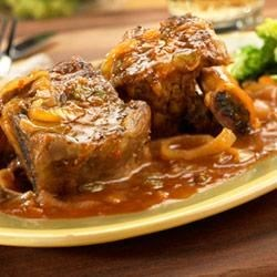 Slow Cooker Picante-Braised Short Ribs |