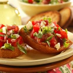 Photo of Bacon, Lettuce and Tomato Bruschetta by National Pork Board