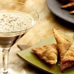 Savory Pear Vanilla Wontons Recipe