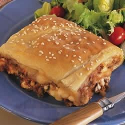 Photo of Crafty Crescent Lasagna by Pillsbury