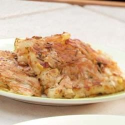 Photo of Hash Brown Apple Pancake by Taste of Home Test Kitchen