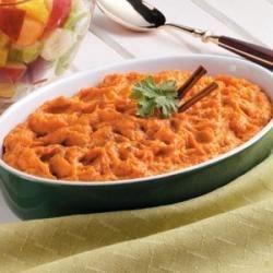 Photo of Light Sweet Potato Casserole by Taste of Home Test Kitchen