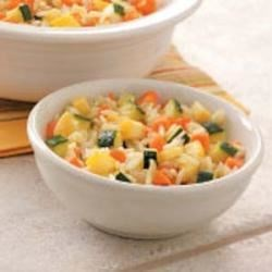 Photo of Rice with Summer Squash by Heather Ratigan