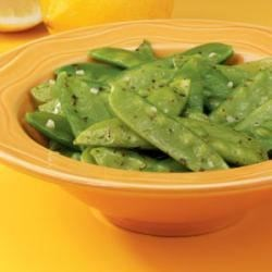 Photo of Lemon-Butter Snow Peas by Taste of Home Test Kitchen