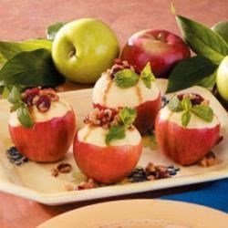 Photo of Cranberry-Stuffed Apples by Taste of Home Test Kitchen
