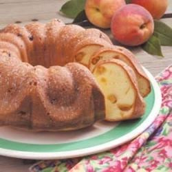 Photo of Peach Pound Cake by Betty Jean  Gosnell
