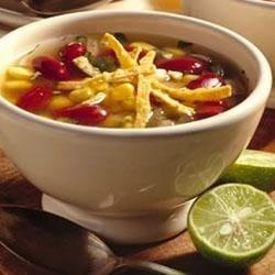 BUSH'S(R) Best Spicy Tortilla Soup Recipe