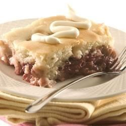 Photo of Easy White Cake Over Fruit by The Canola Info Virtual Kitchen