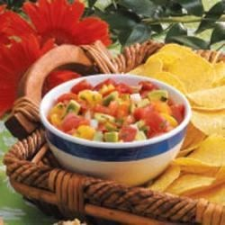 Photo of Peachy Avocado Salsa by Shelly  Platten