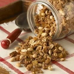 Jif(R) Peanut Butter Granola Recipe