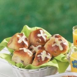 Photo of Dolores' Hot Cross Buns by Dolores  Skrout