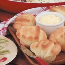 Photo of Sour Cream Fan Rolls by Carrie  Ormsby