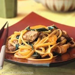 Photo of Citrus Spiced Pork Lo Mein by HERB-OX® Bouillon