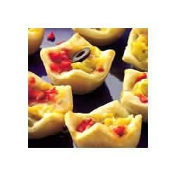 Crescent Nacho Mini Cups Recipe