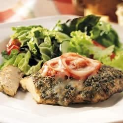 Photo of Baked Pesto Chicken by Buitoni, courtesy of meals.com