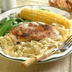 Italian Seasoned Chicken and Fettuccine Recipe