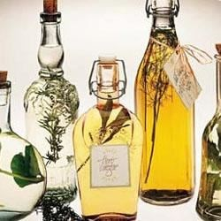 Photo of Basil Vinegar by Southern Living magazine