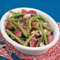 Photo of Red Potatoes with Beans by Daria Burcar