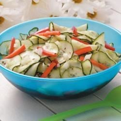Photo of Dilly Cucumber Salad by Mary  Farley